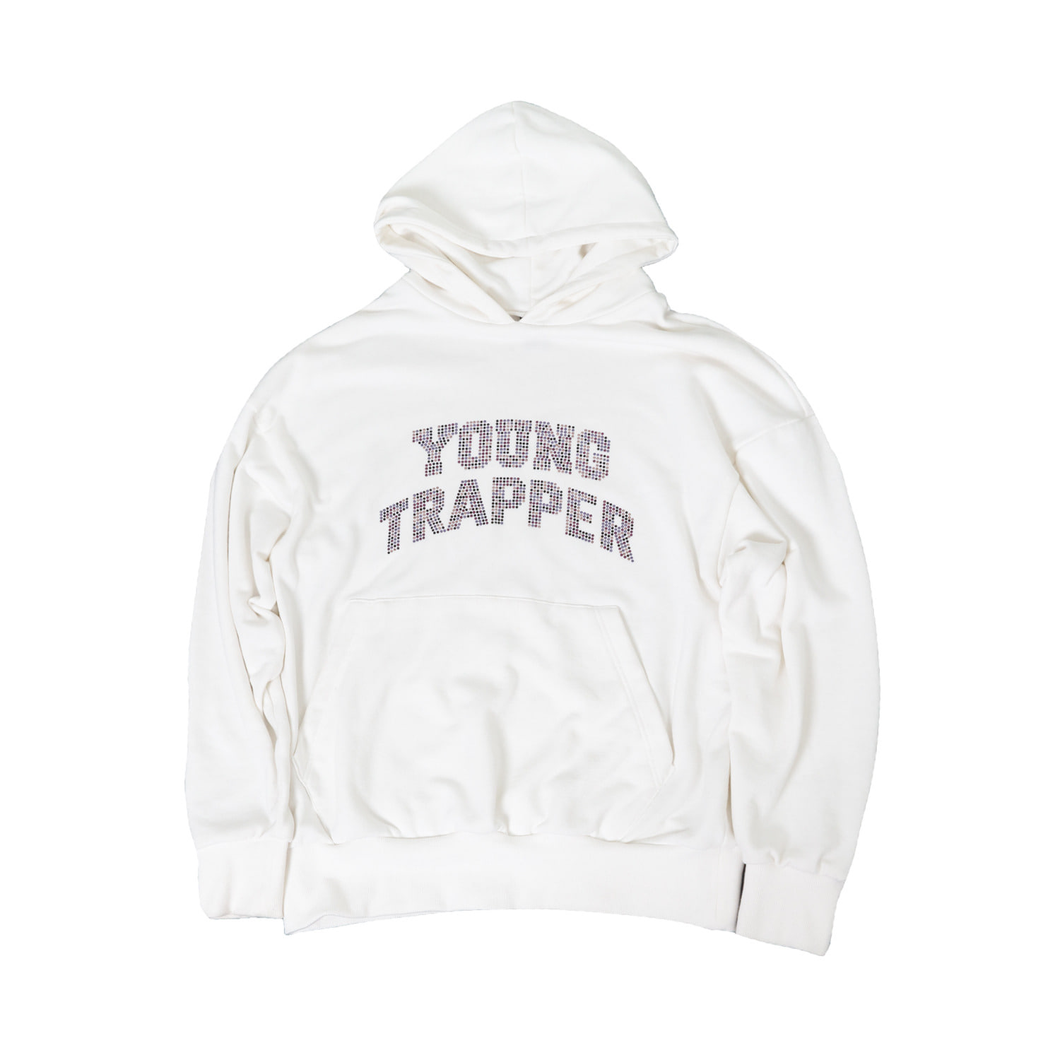 YOUNG TRAPPER HOODIE WHITE SS20
