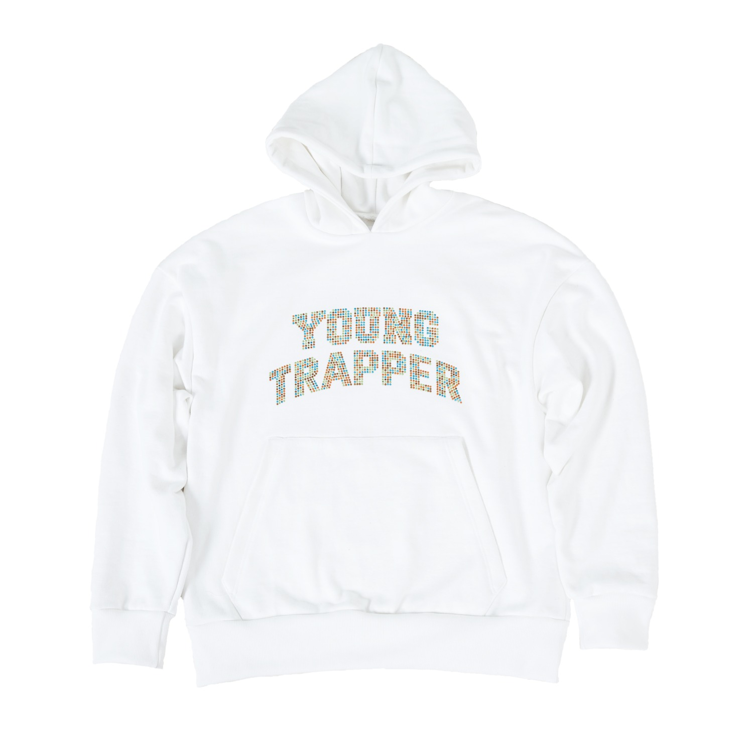 YOUNG TRAPPER HOODIE RAINBOW